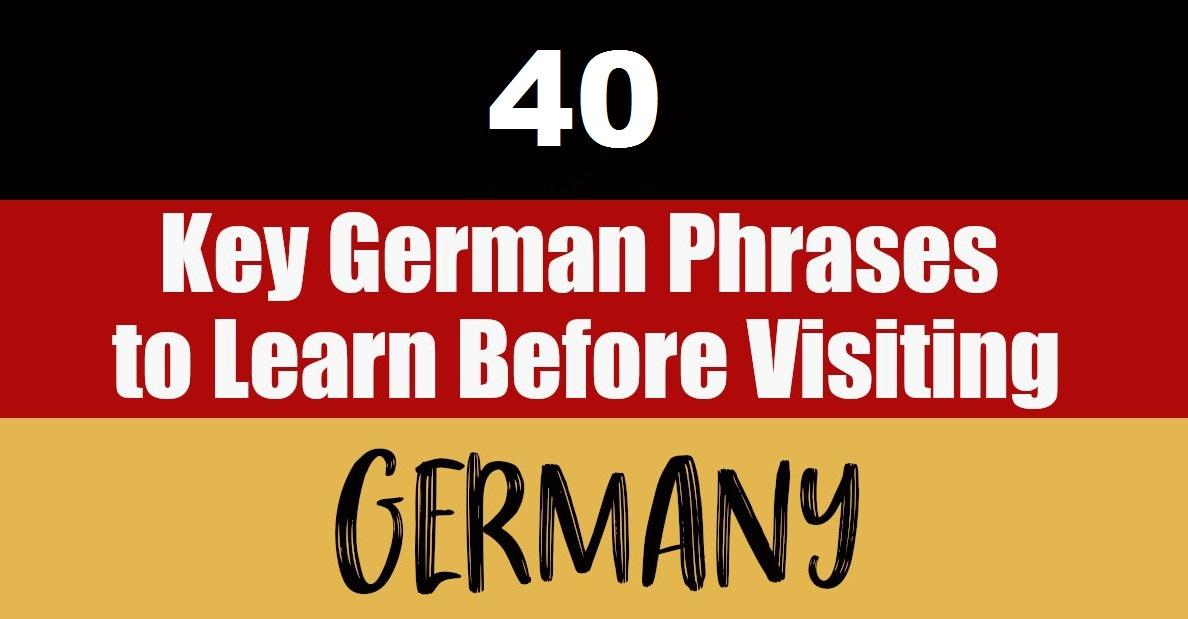 40 Kata yang Harus Anda Ketahui dalam Bahasa Jerman Saat Bepergian ke Jerman   The Daqian Times
