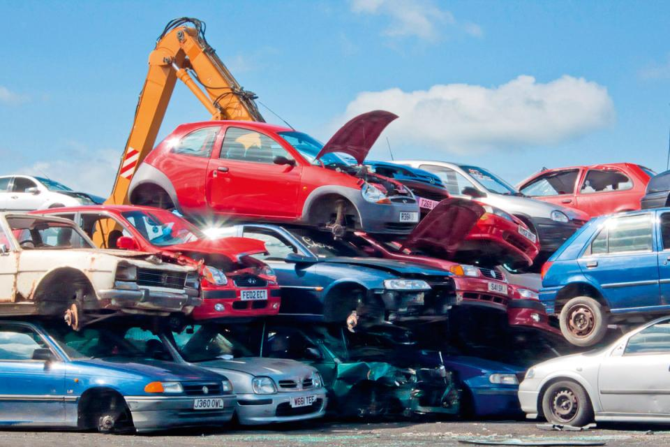 History of Car Recycling | How Much of a Car Can Be Recycled? - The Daqian  Times